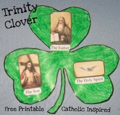 Honoring the Blessed Trinity - Through Crafts and Gifts!