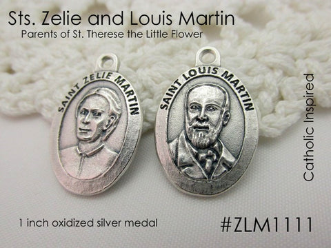 Sts. Zelie and Louis Martin Medal - Parents of St. Therese