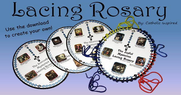 Lacing Rosary