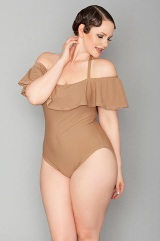 Arelia One-Piece - Sable