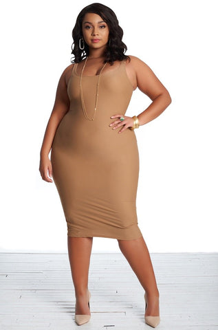 Brea Dress - Sable