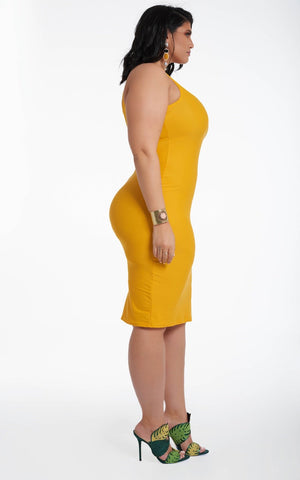 Brea Dress - Sunflower