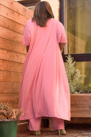 Channing Duster - Dusty Pink