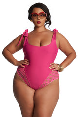 Christel One Piece - Hot Pink