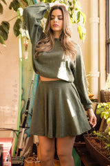 Dominique Skirt - Sweet Olive