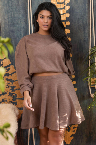 Dominique Sweater - Taupe