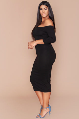 Ebony Dress - Black