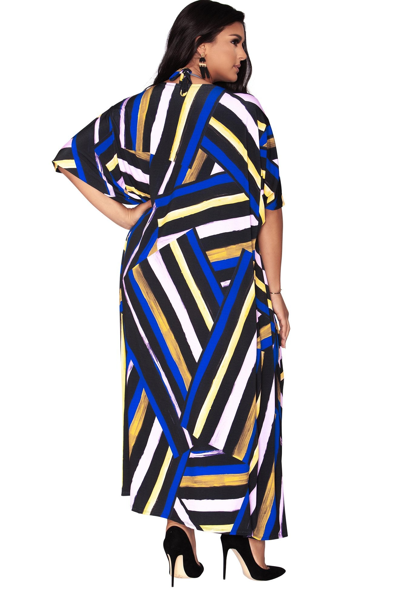 Emily Duster - Bold Stripes