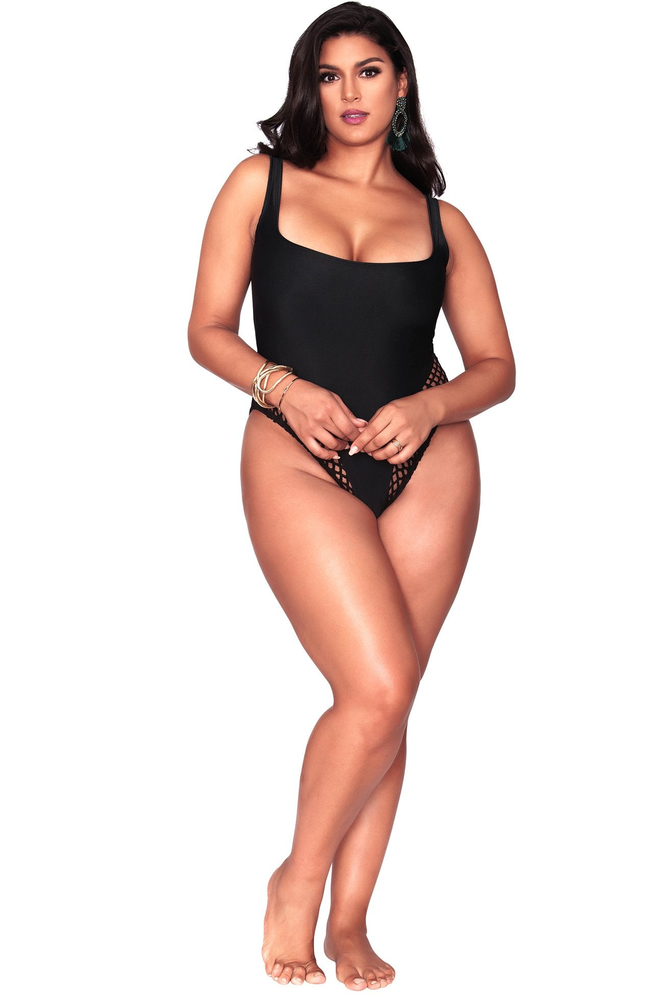 Fiona One Piece - Black
