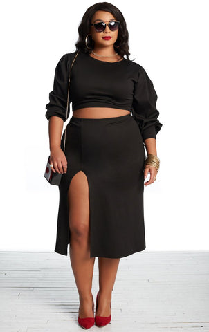 Fizzy Skirt - Black