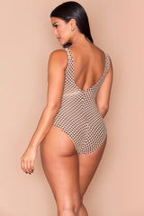 Gabby One Piece - Mocha Nude