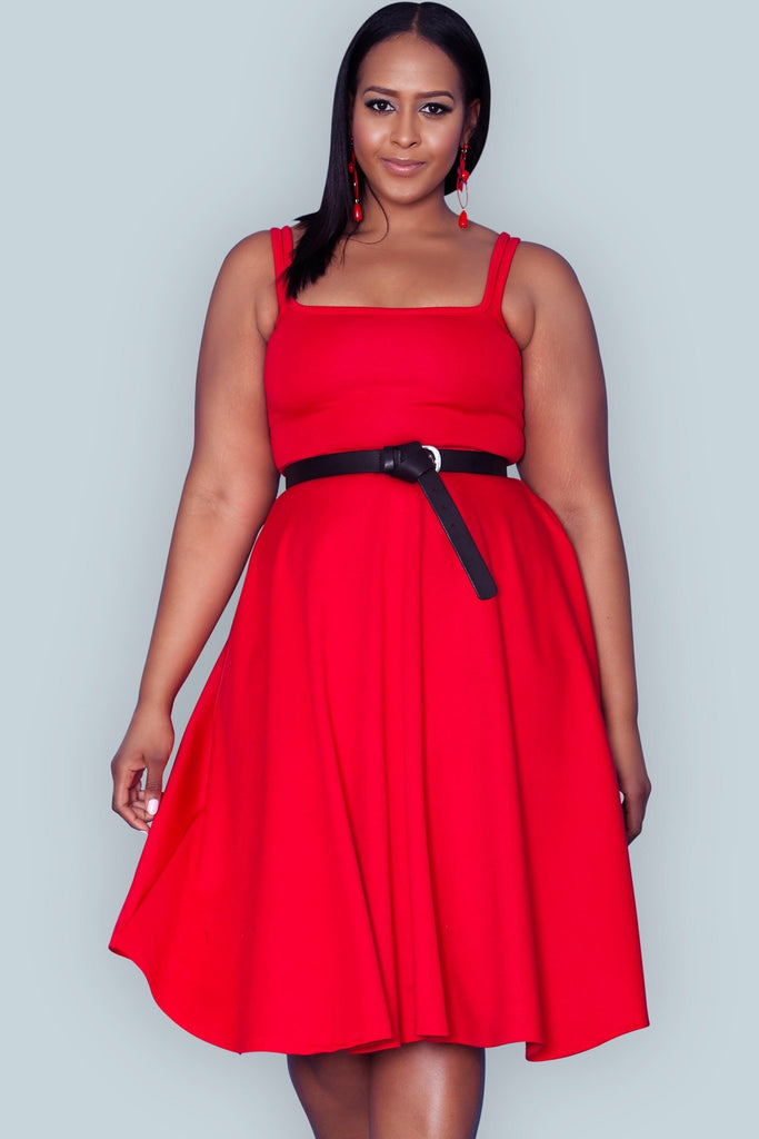 Gloria Dress - Red