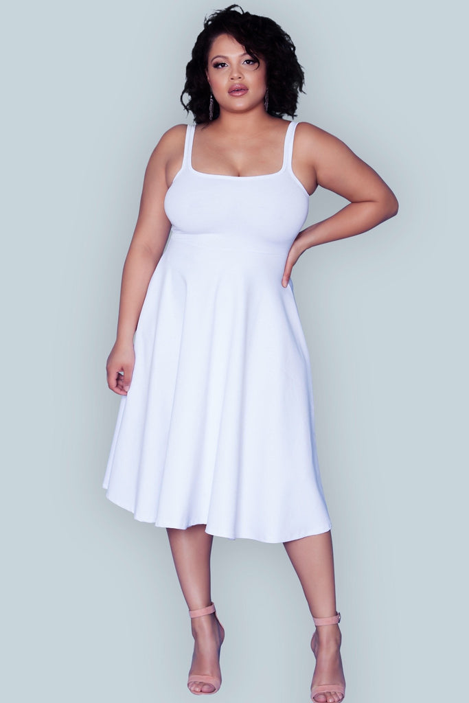 Gloria Dress - White