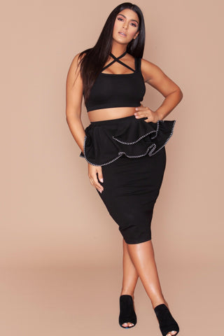 Megan Skirt - Black