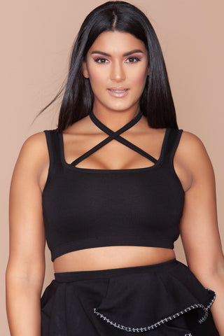Megan Top - Black