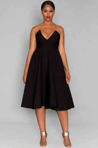 Kelsey Dress- Black