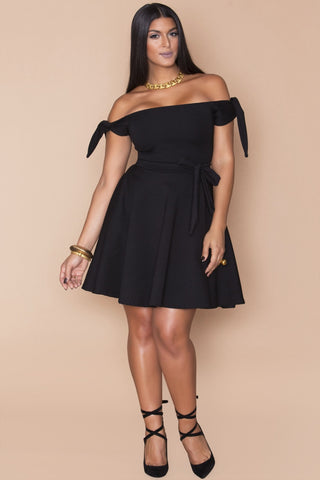 Diaz Dress- Black