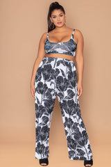 Nipsey Pants - Black Floral
