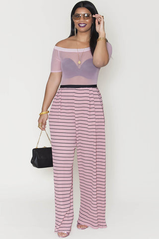 Isabel Pants- Rose