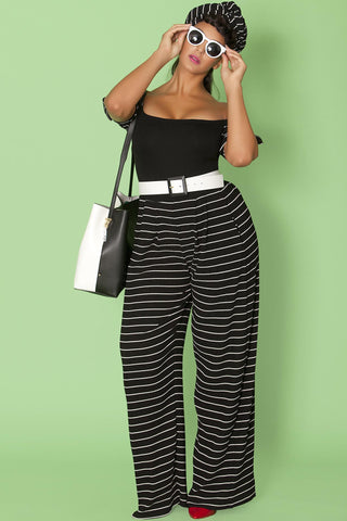 Isabel Pants- Black