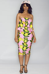 Jade Dress- Pink Purple Lemonade