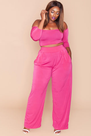 Jaime Pants- True Pink