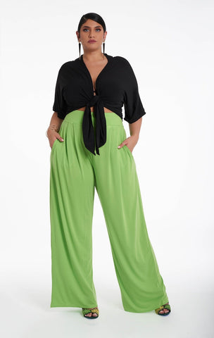 Jamie Pants - Lime Green