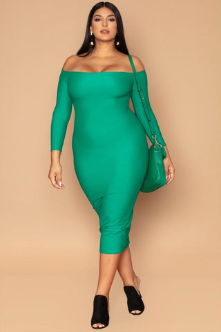 Jas Dress - Emerald