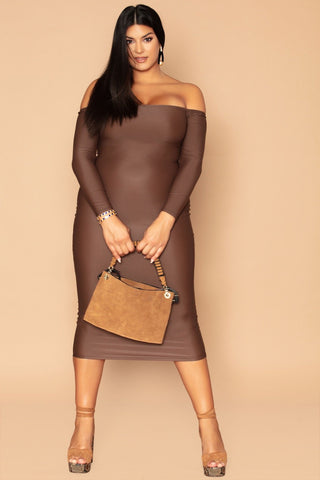 Jas Dress - Deep Cocoa