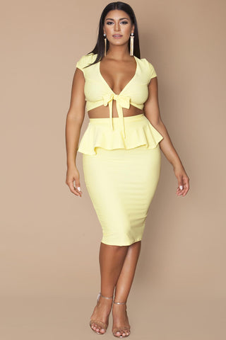 Joelle Top- Butter Yellow