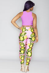 Juleen Leggings - Pink Purple Lemonade