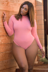 Lalanii Bodysuit - Dusty Pink