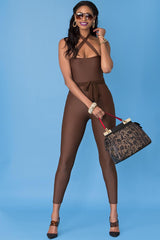 Marjorie Bodysuit- Chocolate