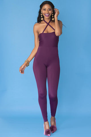 Marjorie Bodysuit- Grape