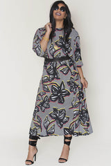 Melo Dress- African flower