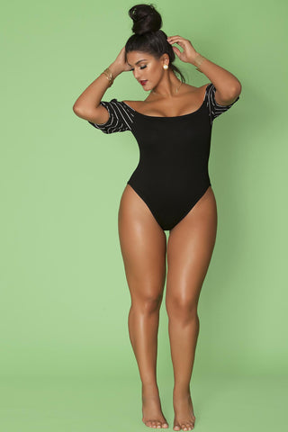 Mendez Leotard- Black