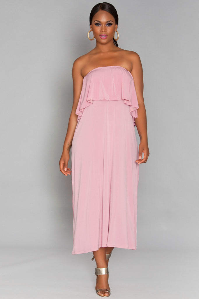 Mia Dress - Rose