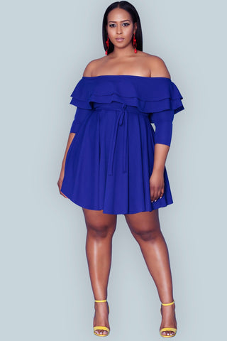 Michelina Dress- So Royal
