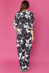 Kate Jumpsuit- Black Orchid