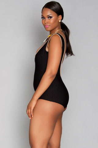 Nisha Leotard - Black