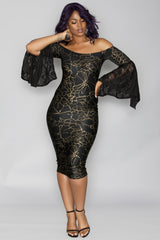 N'Kechi Dress- Black
