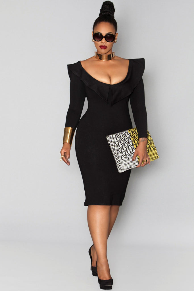 Oscar Dress- Black