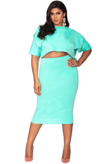 Raven Skirt - Fresh Mint