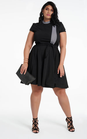 Roshana Dress - Black