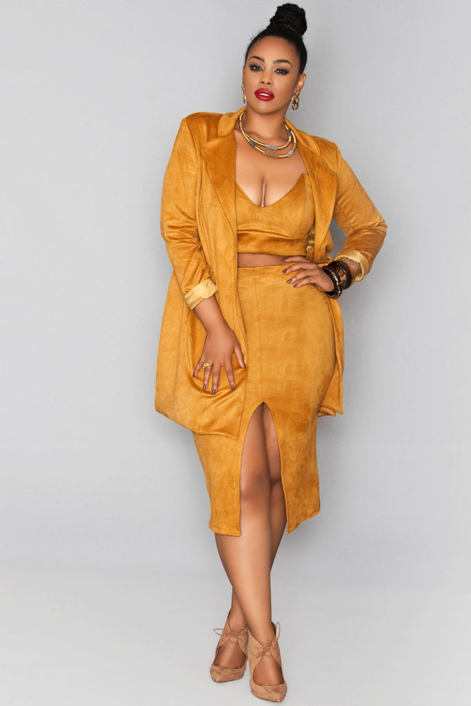 Solange Jacket- Spicy Mustard