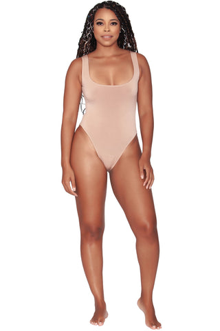 Sylvie Bodysuit - Au Naturel