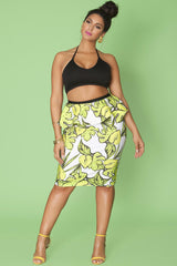 Thimbe Skirt- Evergreen