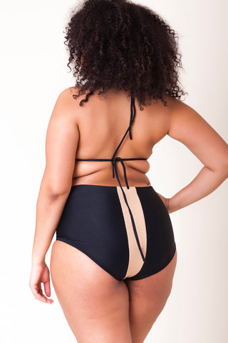 Torrie String Bikini Bottom - Black Out