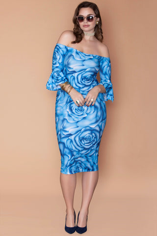 Val Dress - Cloud Flower