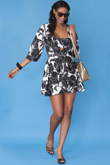Wendy Dress- Black Orchid